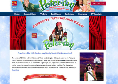 Ross Petty Website