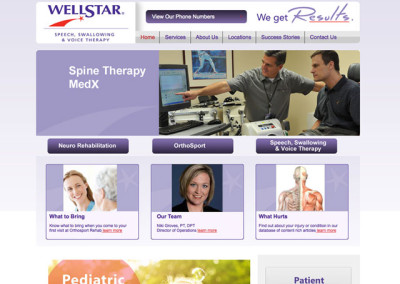 Orthosport Physical Therapy Website